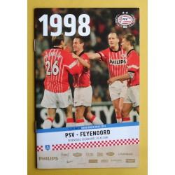 Programma PSV - Feyenoord 2013