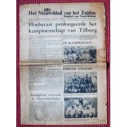 N.v.h.Zuiden Tilburg Paasvoetbal 1965