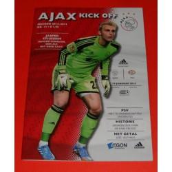 Programma Ajax-PSV 2014